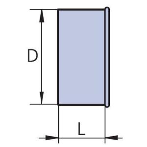 заглушка круглая торцевая вентиляционная схема