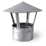 зонт вентиляционный крышный