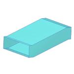 утка прямоугольного сечения 200х800
