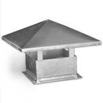 Зонт крышной прямоугольного сечения