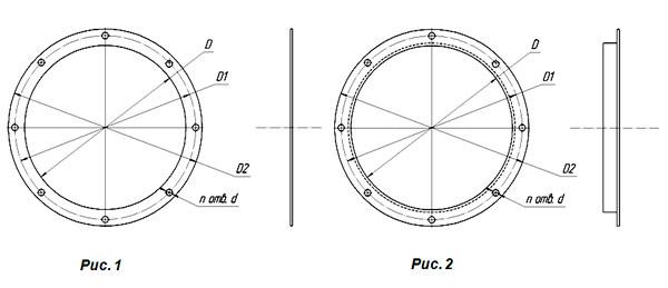 Фланцы круглые для воздуховодов размеры