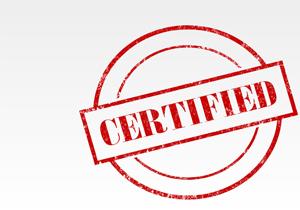 Сертификат соответствия и Сертификат соответствия системы менеджмента качества от 30.04.2020 г.